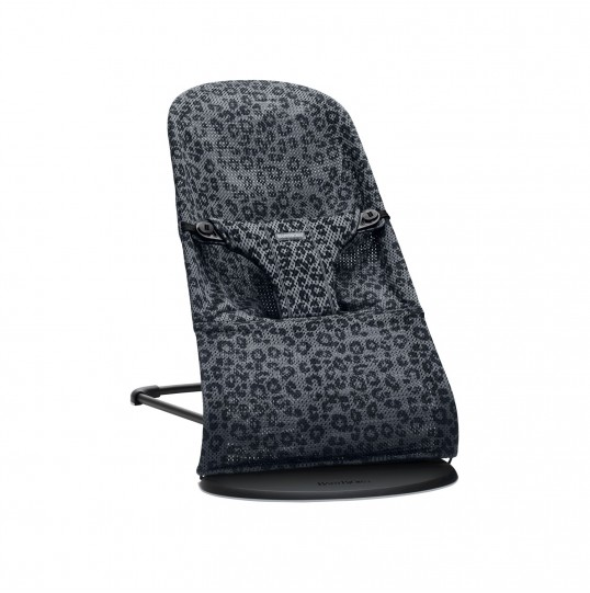 BLISS MESH LEOPARD ANTHRACITE
